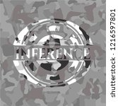 inference on grey camouflaged... | Shutterstock .eps vector #1216597801