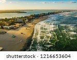 romania black sea coastline and ...   Shutterstock . vector #1216653604