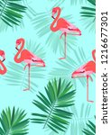 Exotic Seamless Pattern With...