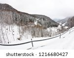 winter in schwarzwald....   Shutterstock . vector #1216680427