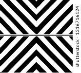 black and white minimal... | Shutterstock .eps vector #1216716124