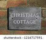 wall plaque showing house name  ... | Shutterstock . vector #1216717591