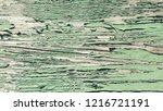 the old green wood texture with ... | Shutterstock . vector #1216721191