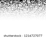 elegant pattern with black... | Shutterstock .eps vector #1216727077
