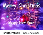 """greeting card """"merry christmas""""... 