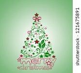 christmas | Shutterstock . vector #121675891
