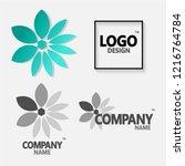 logo design vector template... | Shutterstock .eps vector #1216764784