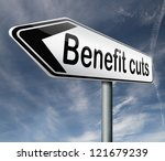 benefit cuts tax cut on housing ...   Shutterstock . vector #121679239