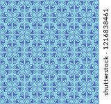 seamless pattern with repeated...   Shutterstock .eps vector #1216838461