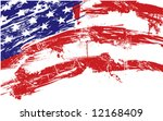 american flag background fully... | Shutterstock .eps vector #12168409
