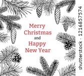 Christmas Greeting Card With A...