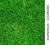 seamless green grass background | Shutterstock . vector #121686361