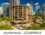 coconut grove  fl  usa  ... | Shutterstock . vector #1216898014