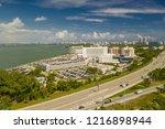 miami beach  fl  usa   october... | Shutterstock . vector #1216898944