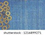 abstract grunge background.... | Shutterstock . vector #1216899271