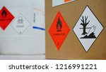 variety type of chemical... | Shutterstock . vector #1216991221