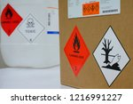 variety type of chemical... | Shutterstock . vector #1216991227