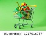 online shopping concept  ...   Shutterstock . vector #1217016757