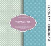 vector ornate frame. perfect... | Shutterstock .eps vector #121707754