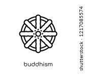 buddhism icon. trendy modern...   Shutterstock .eps vector #1217085574