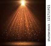 great background with shining... | Shutterstock . vector #121711921