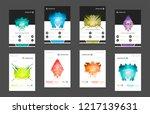 business abstract vector...   Shutterstock .eps vector #1217139631