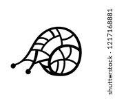 snail illustration   black... | Shutterstock . vector #1217168881