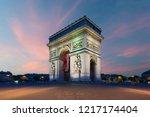 Arc De Triomphe Paris And...