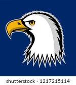 bald eagle symbol of north...   Shutterstock .eps vector #1217215114