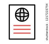 passport   id  ticket     Shutterstock .eps vector #1217223754