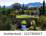 richmond  tasmania  australia   ... | Shutterstock . vector #1217303017