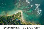 beautiful aerial view of... | Shutterstock . vector #1217337394
