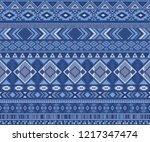 navajo american indian pattern... | Shutterstock .eps vector #1217347474