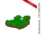 isometric map of ireland with...   Shutterstock .eps vector #1217409334