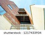 residential apartment  quayside.... | Shutterstock . vector #1217433934