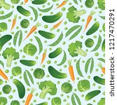 seamless vector pattern with... | Shutterstock .eps vector #1217470291