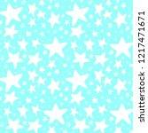 christmas hand drawn pattern...   Shutterstock .eps vector #1217471671