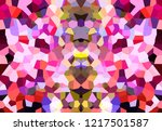 abstract mosaic geometrical... | Shutterstock . vector #1217501587