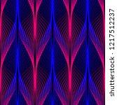neon lines seamless pattern.... | Shutterstock . vector #1217512237