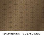 background with gold pattern... | Shutterstock .eps vector #1217524207