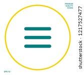 menu icon symbol. graphic...