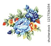 vintage roses design element ...   Shutterstock .eps vector #1217536354
