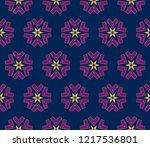 geometric seamless pattern....   Shutterstock . vector #1217536801