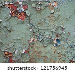 Texture Of Rusty Metal With An...