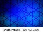dark blue vector texture with...   Shutterstock .eps vector #1217612821