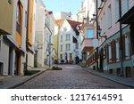 tallinn ... | Shutterstock . vector #1217614591
