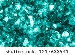 emerald  sapphire or tourmaline ... | Shutterstock . vector #1217633941