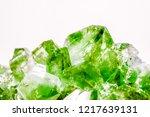 emerald  sapphire or tourmaline ... | Shutterstock . vector #1217639131