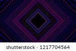 vector infinite rhombic or... | Shutterstock .eps vector #1217704564