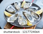 Fresh Oysters With Lemon\'s...